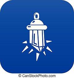 φυλαχτό , γαλάζιο μπέιζ-μπ στοιχείο καρμπονάντο , μικροβιοφορέας , εικόνα