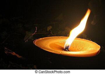 φως κεριών