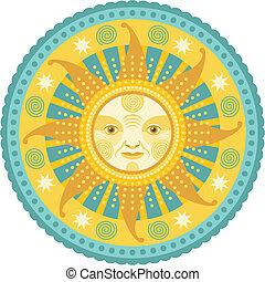 φως της ημέρας , mandala