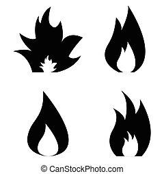 φωτιά , θέτω , εικόνα