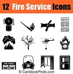 φωτιά , θέτω , υπηρεσία , απεικόνιση