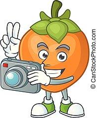 φωτογράφος , γελοιογραφία , φρούτο , φόντο , άσπρο ,...