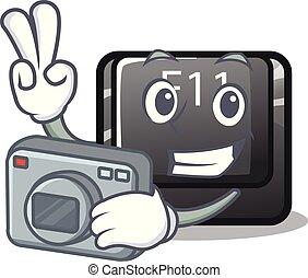 φωτογράφος , κουμπί , f11, απομονωμένος , γελοιογραφία