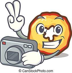 φωτογράφος , μήλο , τηγανητέs πατάτεs , απονέμω , επάνω ,...