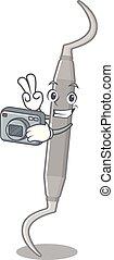 φωτογράφος , οδοντιατρικός , charcater, σχήμα , αξίνα