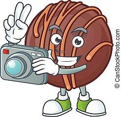 φωτογράφος , χαρακτήρας , μπάλα , φωτογραφηκή μηχανή , είδος...