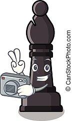 φωτογράφος , χαρακτήρας , σχήμα , σκάκι , άθυρμα , επίσκοπος...
