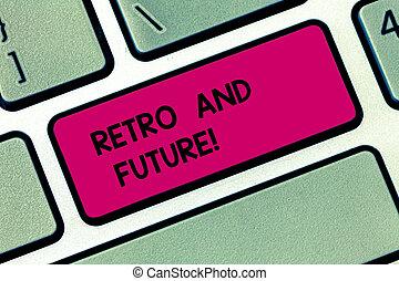 φωτογραφία , ηλεκτρονικός υπολογιστής , αισιόδοξος , πληκτρολόγιο , μήνυμα , δημιουργώ , ιπτάμενος , γράψιμο , intention, εκδοχή , retro , future., σχετικός με την σύλληψη ή αντίληψη , αναπαριστώ , επιχείρηση , άμαξα αυτοκίνητο , εκδήλωση , robots , χέρι , κλειδί , idea., μέλλον , showcasing