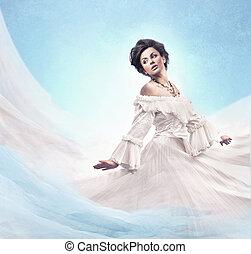 φωτογραφία , μελαχροινή , ρομαντικός , ομορφιά , αβρός