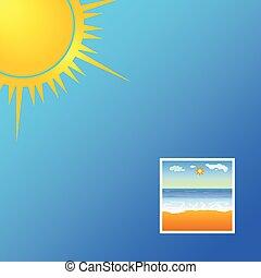 φωτογραφία , μικροβιοφορέας , παραλία , ομορφιά , εικόνα