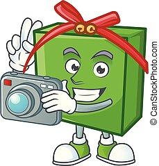 φωτογραφηκή μηχανή , επαγγελματικός , πράσινο , δώρο ,...