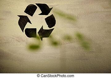 φόντο. , ανακύκλωση , σήμα
