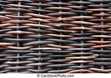 φόντο , από , μετοχή του weave , ξύλο