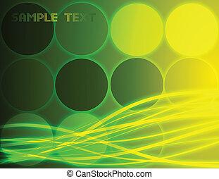 φόντο. , αφαιρώ , μικροβιοφορέας , πράσινο
