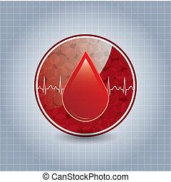 φόντο. , δωρεά , αίμα