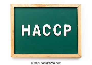 φόντο , λέξη , επικριτικός , ανάλυση , άσπρο , διακόπτης , haccp, (hazard, γράμμα , μαυροπίνακας , points)