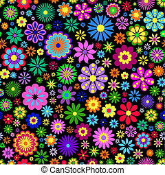 φόντο , λουλούδι , μαύρο , γραφικός
