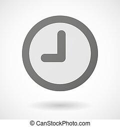 φόντο , ρολόι , εικόνα , άσπρο