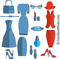 φόρεμα , θέτω , φούστα , εξαρτήματα , απομονωμένος , ζακέτα , women's είδη ιματισμού