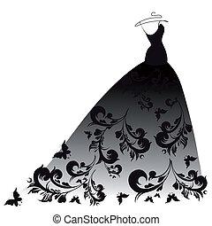 φόρεμα , σχεδιάζω
