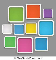 φόρμα , χρώμα , εδάφιο , αφαιρώ , boxes., φόντο
