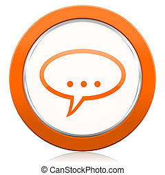 φόρουμ , πορτοκάλι , εικόνα , κουβέντα , σύμβολο , αφρίζω ,...