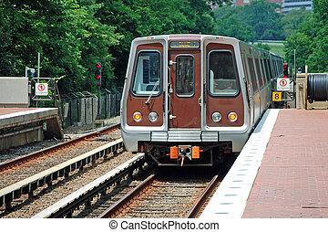φύλλα , θέση , μετρό , μονάδα