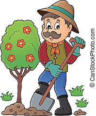 φύτεμα , εικόνα , αγχόνη 1 , θέμα , κηπουρός