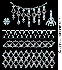 χάντρα , κοσμήματα