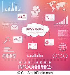 χάρτης , επιχείρηση , infographics