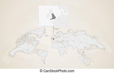 χάρτηs , αγγλία , άκρη γηπέδου , map., ακινητώ , γείτονας , κόσμοs