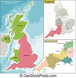 χάρτηs , αγγλία