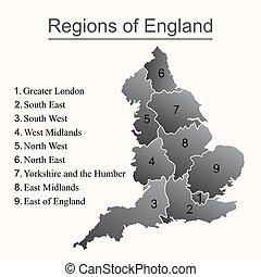 χάρτηs , αγγλία , περίγραμμα , άγνοια φόντο , άσπρο