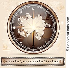 χάρτηs , αζερμπαϊτζάν