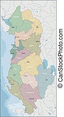 χάρτηs , από , αλβανία