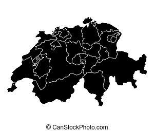 χάρτηs , από , ελβετία