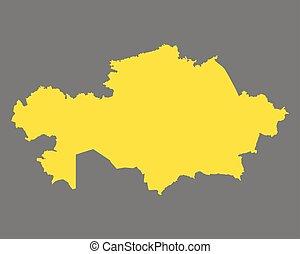 χάρτηs , από , καζακστάν
