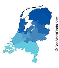 χάρτηs , από , ο , ολλανδία