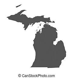 χάρτηs , από , michigan , - , η π α