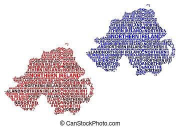 χάρτηs , βορεινός ireland