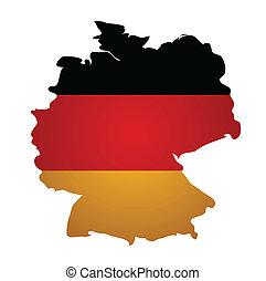 χάρτηs , γερμανία