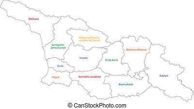 χάρτηs , γεωργία , περίγραμμα