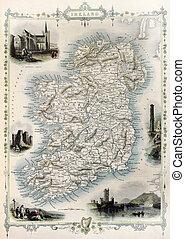 χάρτηs , γριά , ιρλανδία