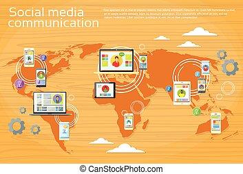 χάρτηs , δισκίο , άνθρωποι , μέσα ενημέρωσης , laptop , καθολικός ανακοίνωση , τηλέφωνο , ηλεκτρονικός υπολογιστής , αναφερόμενος σε ψηφία έμβλημα , κόσμοs , κοινωνικός