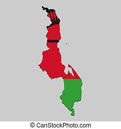 χάρτηs , εθνικός , μικροβιοφορέας , εικόνα , flag.