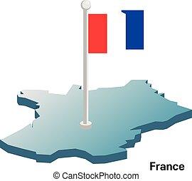 χάρτηs , εθνικός , μικροβιοφορέας , σημαία , γαλλία