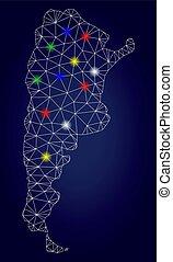 χάρτηs , καλώδιο αποτελώ το πλαίσιο , βρόχος , ευφυής , μικροβιοφορέας , ανακαλύπτω , αργεντινή , λάμπω