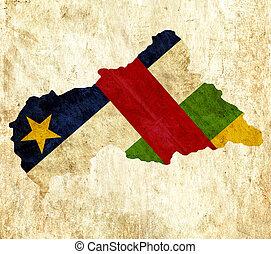 χάρτηs, κεντρικός, κρασί, χαρτί, δημοκρατία, αφρικανός