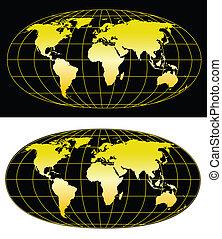 χάρτηs , κόσμοs