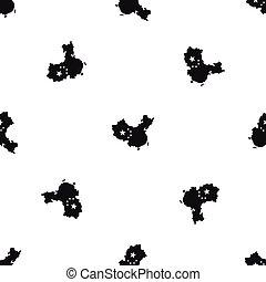 χάρτηs , μαύρο , seamless, κίνα , πρότυπο